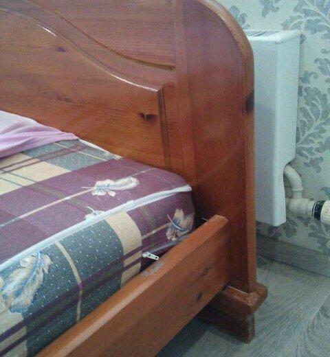 Кровать с матрасом. Фото 1. Москва.