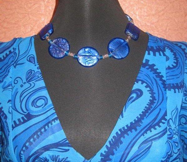 Ярко-синее красивое платье. Фото 2. Москва.