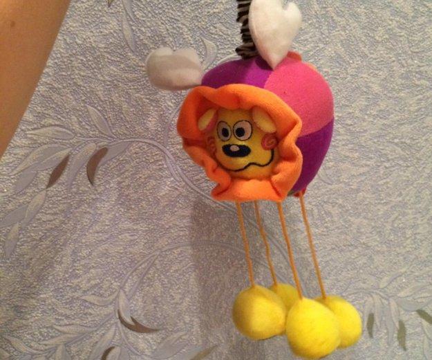 """Развивающая мягкая игрушка-подвеска """"львёнок"""". Фото 3. Волгоград."""