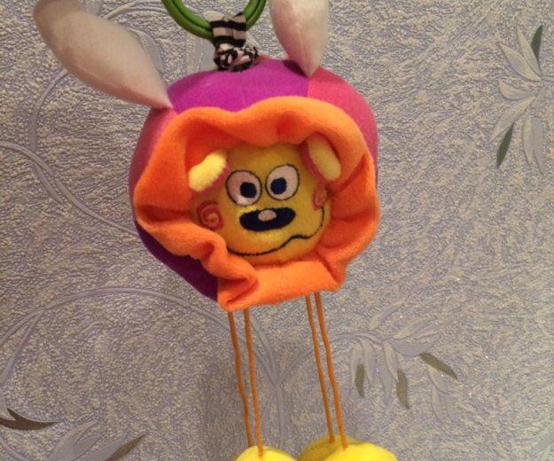"""Развивающая мягкая игрушка-подвеска """"львёнок"""". Фото 1. Волгоград."""