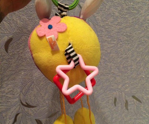 """Развивающая мягкая игрушка-подвеска """"львёнок"""". Фото 2. Волгоград."""