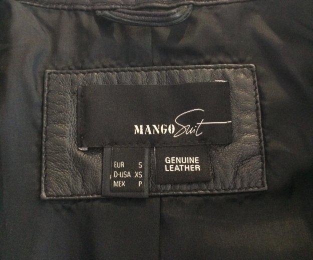 Кожаная куртка mango. Фото 2. Санкт-Петербург.