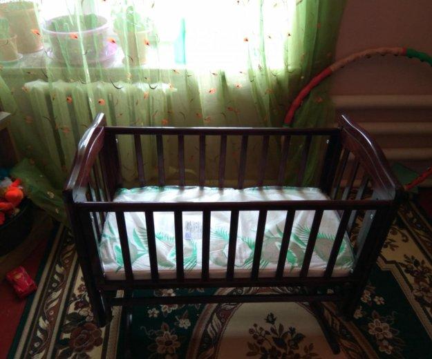 Детская кровать качалка. Фото 2. Каспийск.
