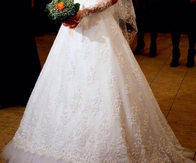 Свадебное платье. Фото 3. Новосибирск.