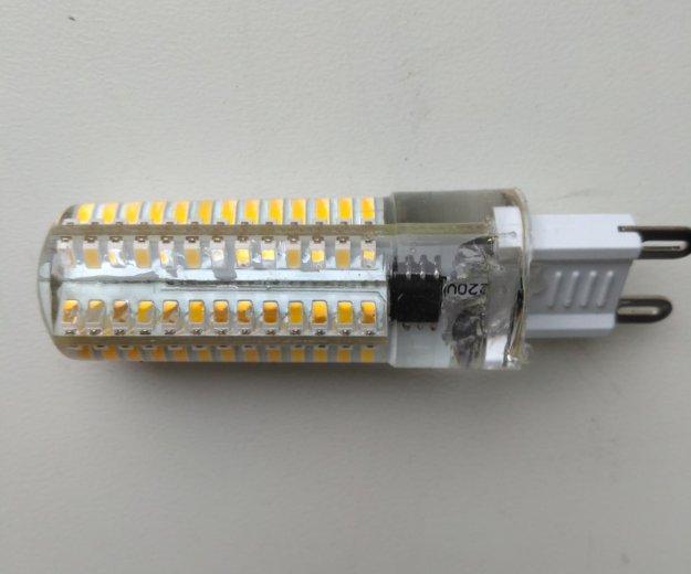 Светодиодные лампы g9 (10 штук). Фото 2. Сургут.