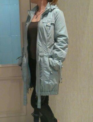 Новая с бирочками демисезонная куртка р.46. Фото 1. Москва.