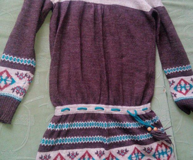 Шерстяной свитер- туника. Фото 1. Москва.