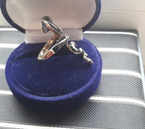 Кольцо серебряное. Фото 2. Мытищи.
