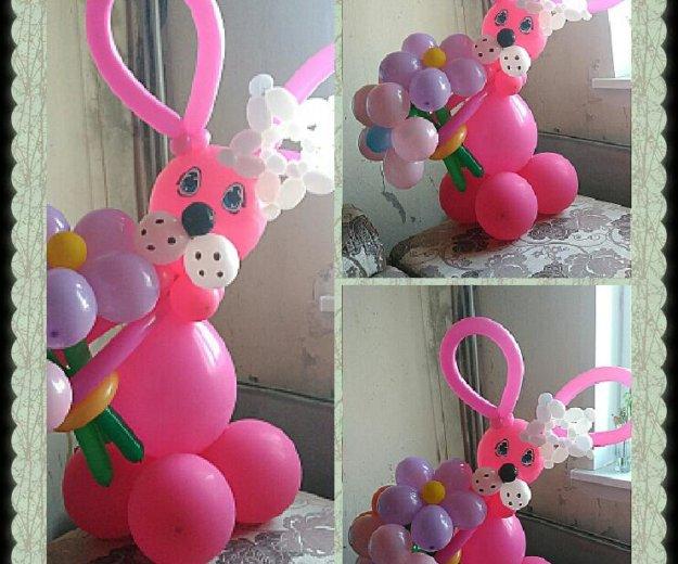 Фигурки из воздушных шаров. Фото 2. Омск.