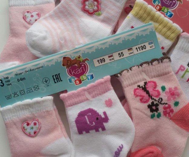 Носочки для девочки. Фото 4.