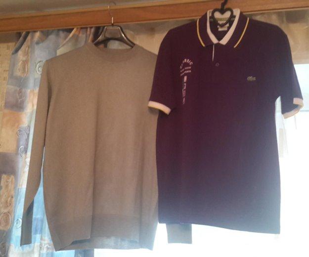 Пуловер и футболка. Фото 1. Санкт-Петербург.