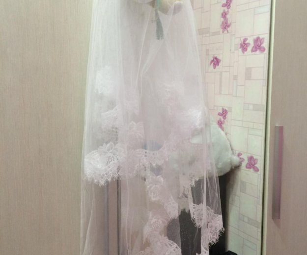 Свадебное платье. Фото 3. Магнитогорск.