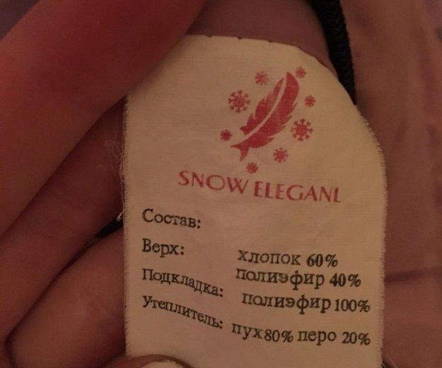 Пуховик зимний. Фото 3. Москва.