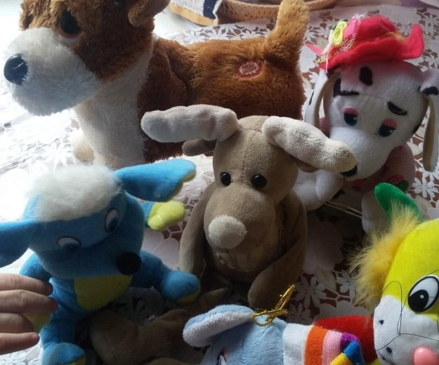 Пакет мягких  игрушек. Фото 2. Красногорск.