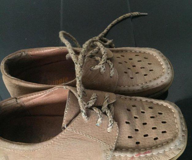Мокасины на шнурках. Фото 2. Котельники.