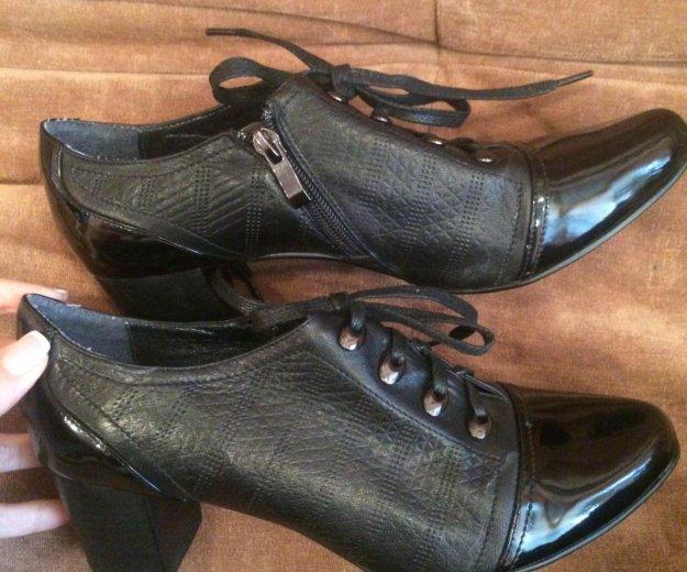 Женские туфли натуральная кожа. Фото 2. Белгород.
