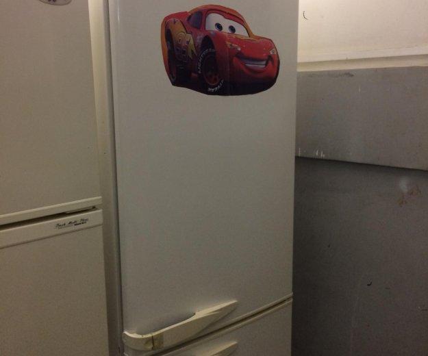 Холодильник бу стинол (трещина на ручке). Фото 2. Санкт-Петербург.