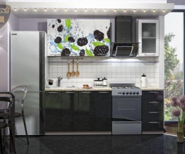 """Кухня""""ежевика""""1.6м. Фото 1. Кемерово."""