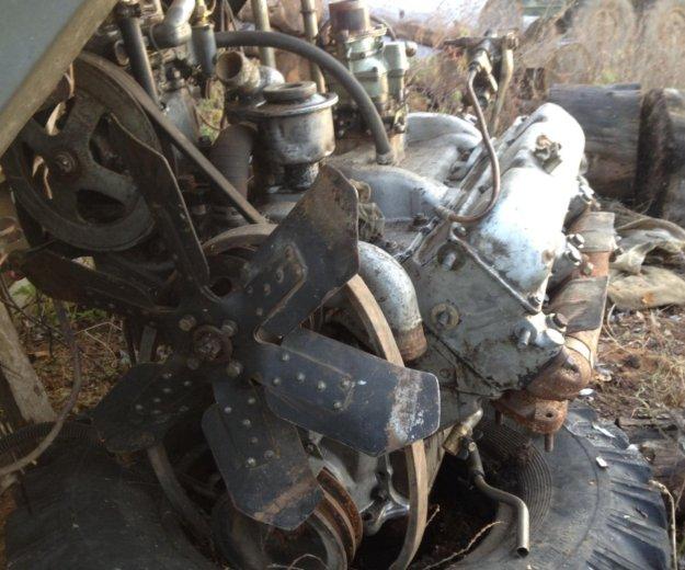Продам двигатель с коробкой. Фото 2. Новосысоевка.