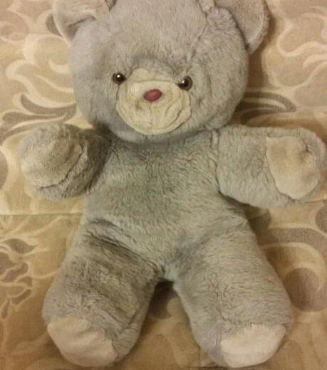 Плюшевый медведь. Фото 1. Находка.