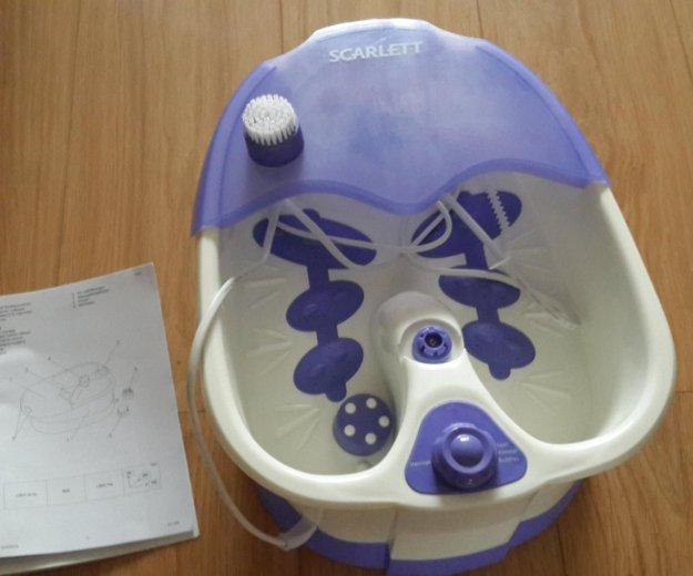 Гидромассажная ванночка новая scarlett sc 208. Фото 1. Щёлково.