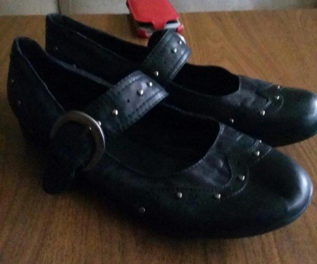 Туфли кожанные. очень удобные. немецкие. размер 41. Фото 1.
