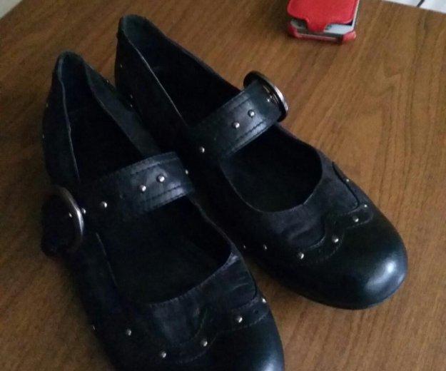Туфли кожанные. очень удобные. немецкие. размер 41. Фото 2.