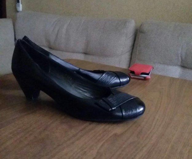 Туфли итальянские почти новые. 41 размер. Фото 1.