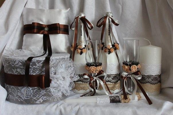 Свадебные наборы ручной работы. Фото 2. Белгород.