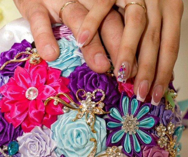 Брошь букет для невесты на свадьбу. Фото 1. Красноярск.