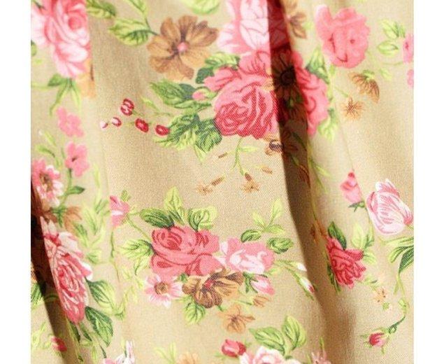 Платье новое трапеция в цветах. Фото 2. Санкт-Петербург.