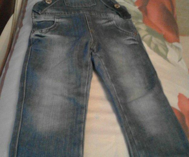 Комбенизон джинсовой. Фото 1. Сургут.