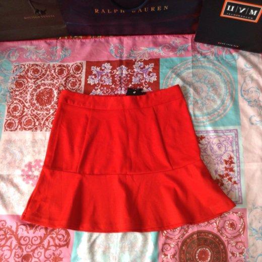 Новая красная юбка колокольчик. Фото 1. Москва.
