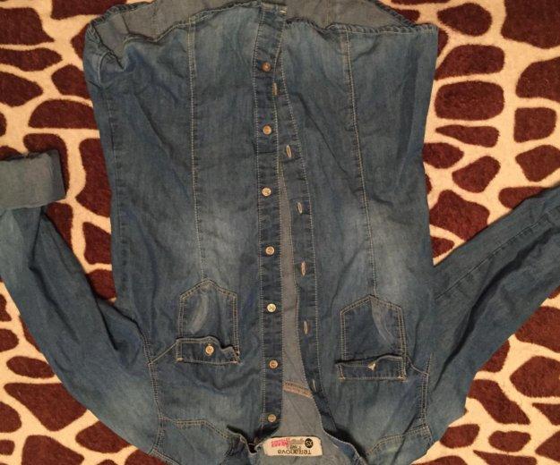 Рубашка джинсовая терранова. Фото 1. Краснодар.