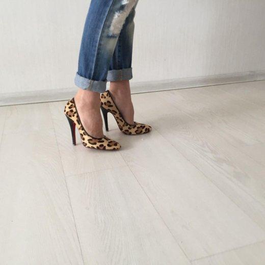 Леопардовые туфли, пони, р36,5-37, весь компл прод. Фото 4. Краснодар.