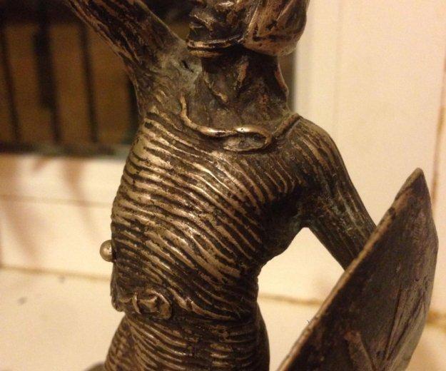 Серебро 800пр. статуэтка 626 грамм. редкость!. Фото 3.