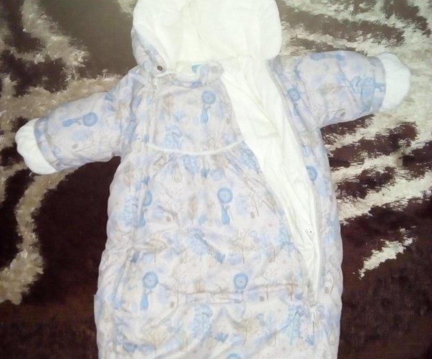 Конверт для мальчика,размер 68 осень,не холодная з. Фото 1. Калуга.