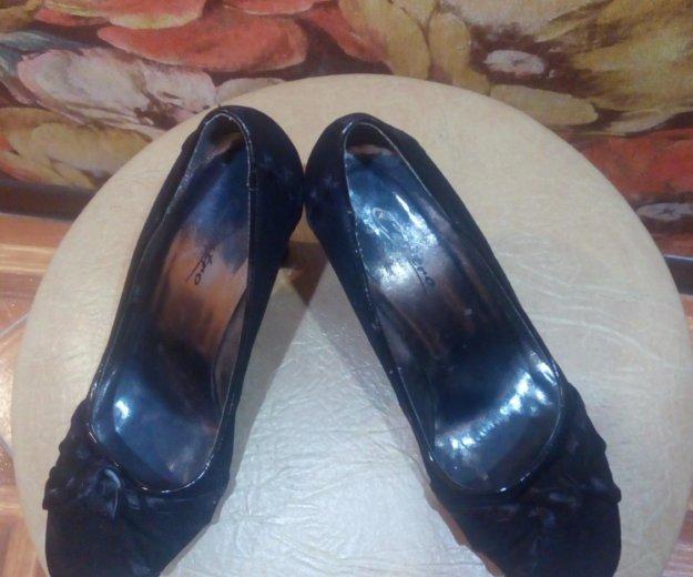 Туфли замшевые. Фото 1. Сергиев Посад.
