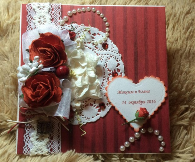 Свадебная открытка. Фото 2. Иваново.