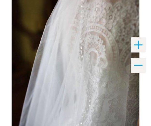 Изысканное свадебное платье. Фото 2. Псков.