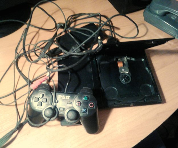 Sony playstation 2. Фото 1. Лесозаводск.