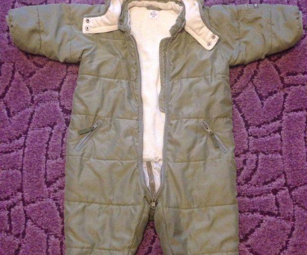 Зимний комбинезон h&m baby 80 см. Фото 2.
