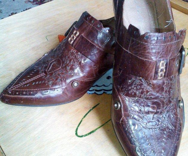 Ботинки (казачки). Фото 1. Туапсе.