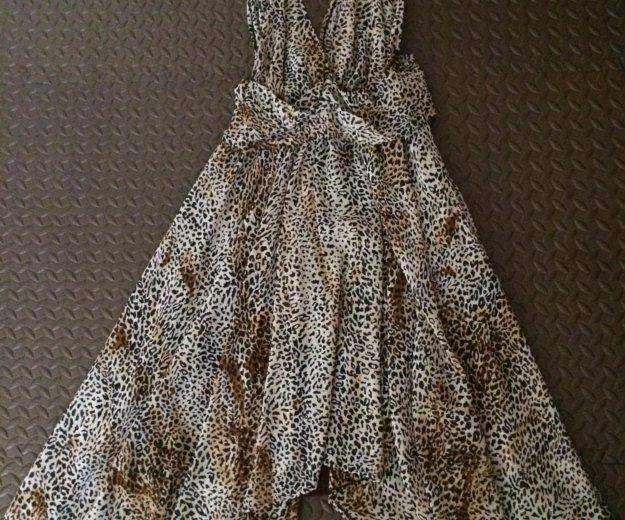 Платье леопард. Фото 2. Чита.