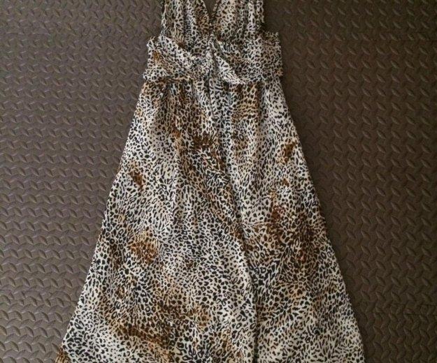 Платье леопард. Фото 1. Чита.