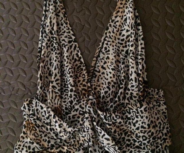 Платье леопард. Фото 3. Чита.
