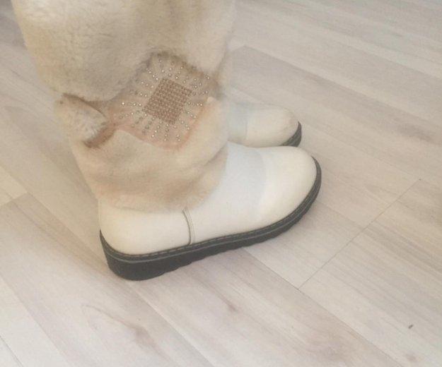 Зимние тёплые ботинки. Фото 2. Москва.