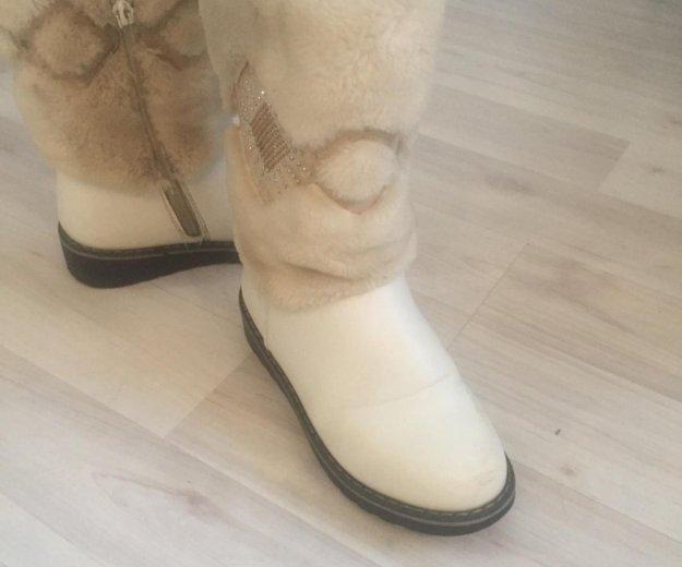 Зимние тёплые ботинки. Фото 1. Москва.