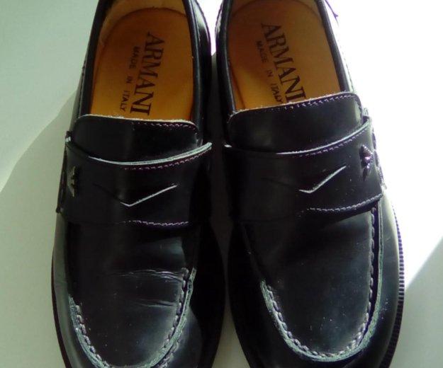 Ботинки  armani. Фото 1. Саратов.