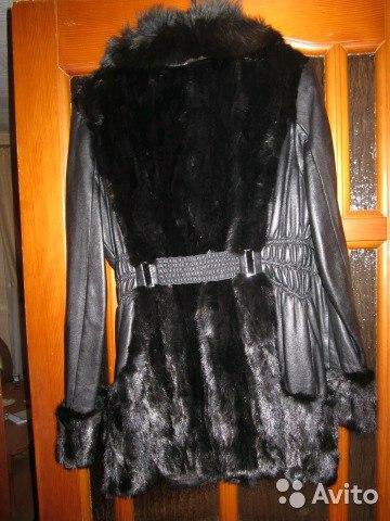Куртка из натуральной кожи. Фото 1. Киров.
